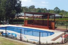 Pool pergola 1