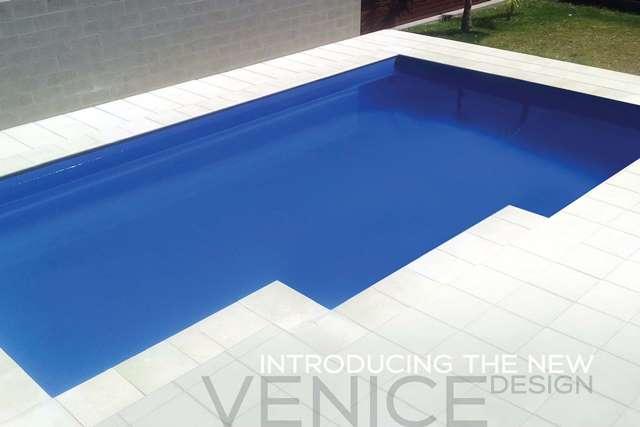 Harvest Venice fibreglass pool