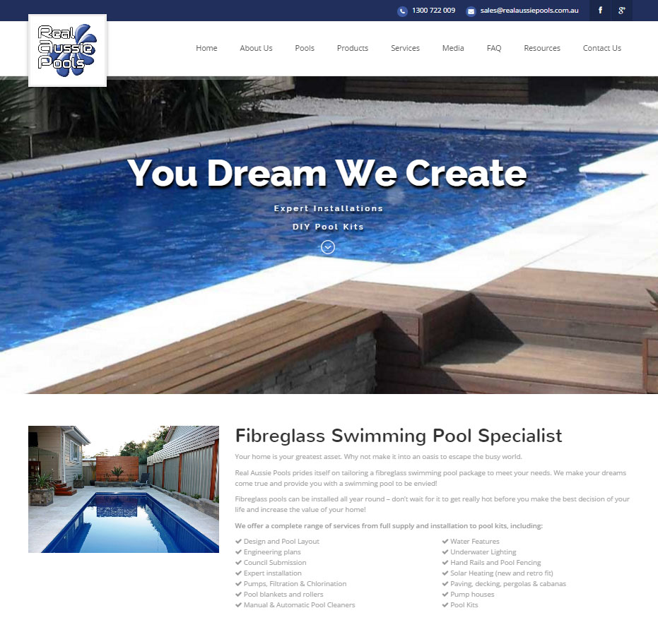 Fibreglass Pool Specialist Real Aussie Pools Installing Pump For