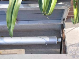 Aussie Undercover Installed in formed concrete cavity