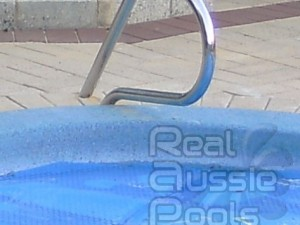 G2 standard hand rail which aids pool access