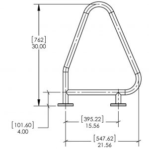 triangle-grab-rail flanged